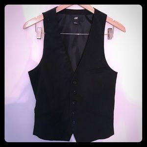 Men's black vest H&M